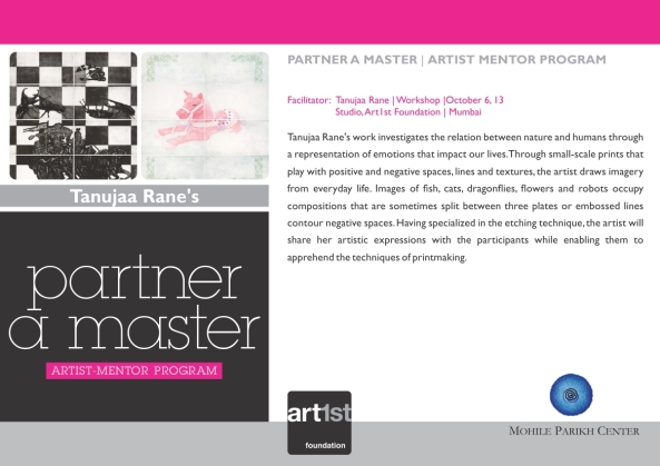 Partner a Master 2013-14|Tanujaa Rane|October 6,13