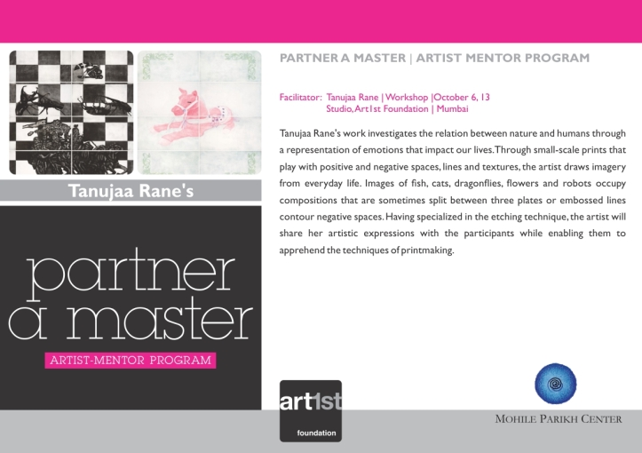 Partner a Master 2013-14|Tanujaa Rane|October 6,13