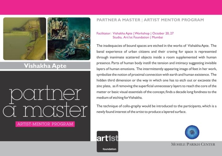 Partner a Master 2013-14|Vishakha Apte|October 20, 27
