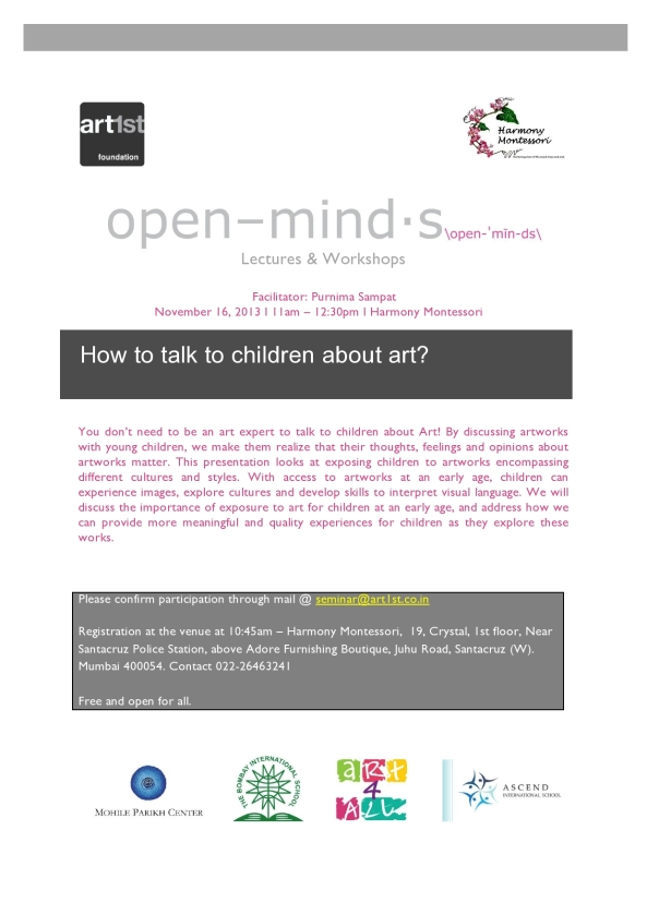 Open Minds Seminar