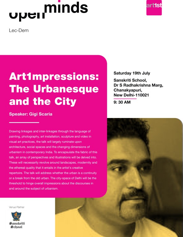 Art1mpressions: The Urbanesque and the City with Gigi Scaria