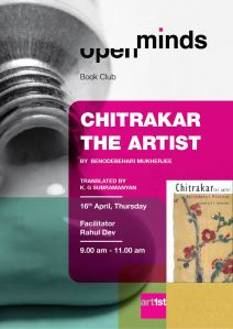 Book Club Poster Chitrakar The Artist 100415-01
