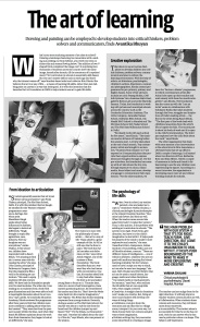 Business Standard_The Art of Learning_14 March 2015