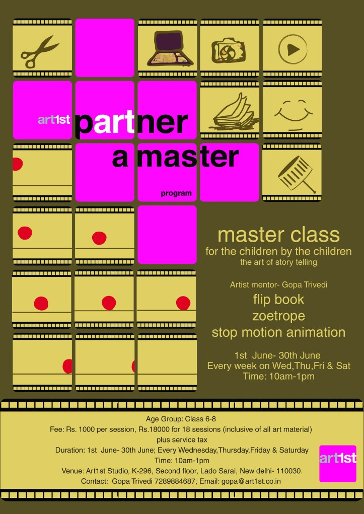 MASTER CLASS POSTER