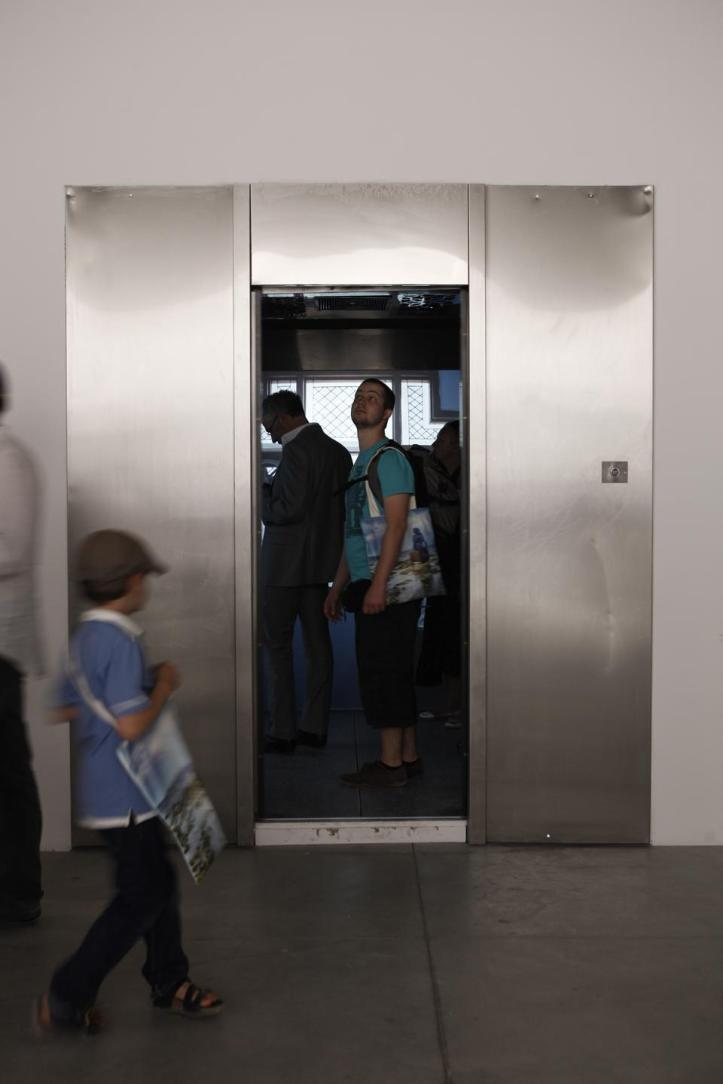 Gigi Scaria, 'Elevator from the Subcontinent (exterior view),' 2011. (Photograph curtsey of Domus Magazine website.) .jpg