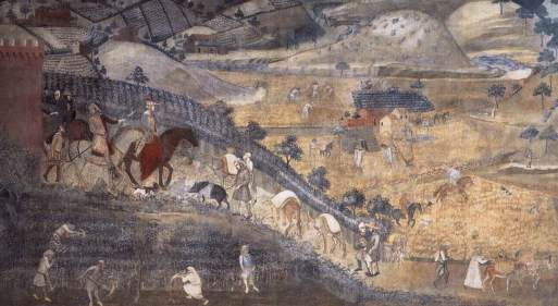 Ambrogio_Lorenzetti_-_The_Effects_of_Good_Government_in_the_Countryside_(detail)_-_WGA13495